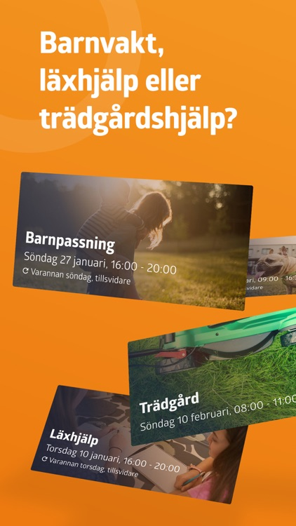 Yepstr - barnvakt, läxhjälp mm screenshot-0