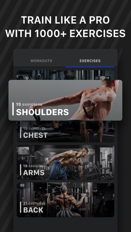 Muscle Booster Workout Tracker screenshot-4