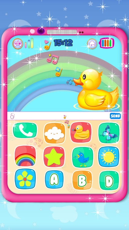 Pink Phone Learning Games