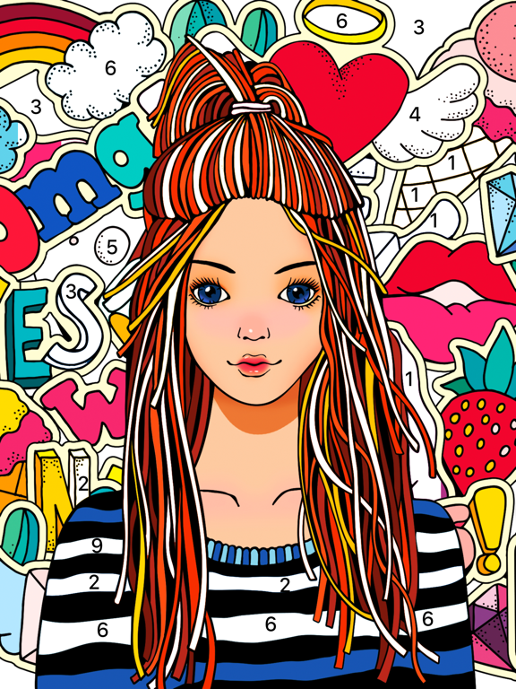 Color Fun - Color by Number screenshot 9