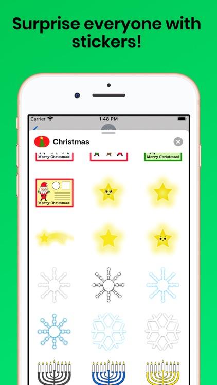 Christmas Holiday for iMessage screenshot-6