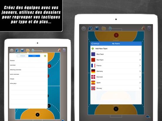 Screenshot #6 pour Planche Tactique: Handball++