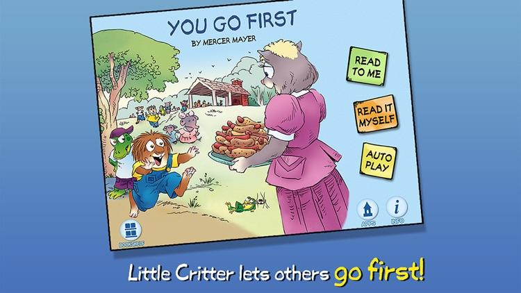 You Go First - Little Critter