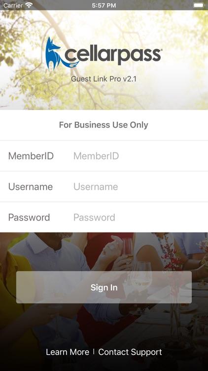 CellarPass Guest Link Pro