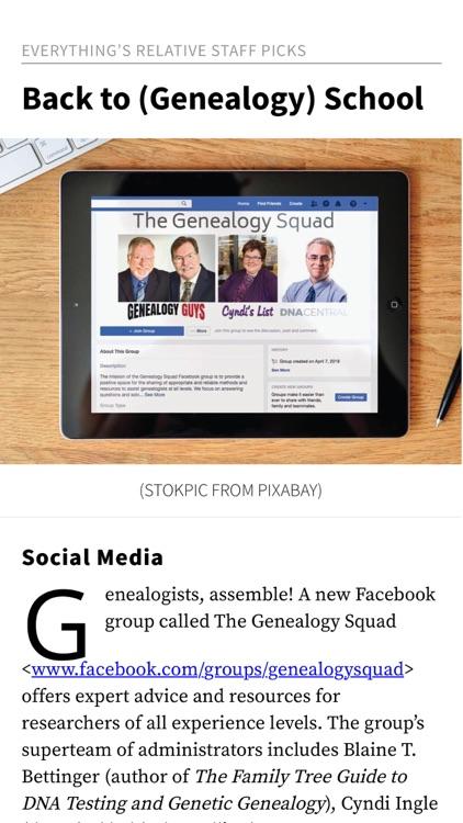 Family Tree Magazine screenshot-4