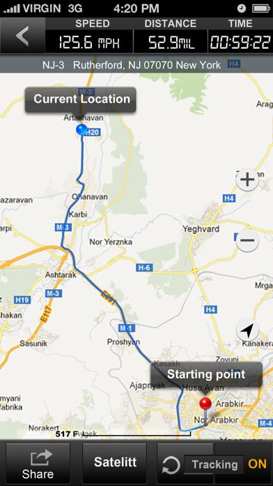 Speedometer GPS+ Screenshots