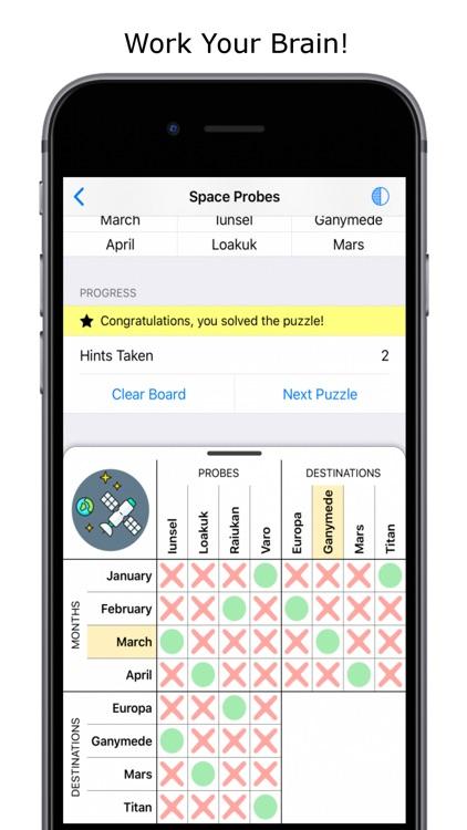 Logic Grid Puzzles screenshot-3
