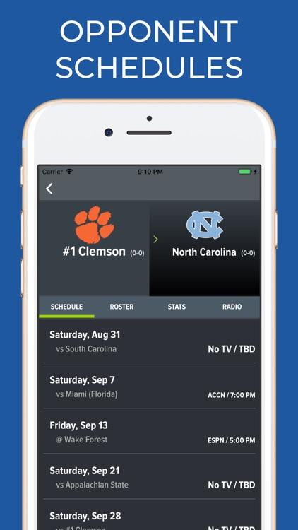 Clemson Football Schedules screenshot-6