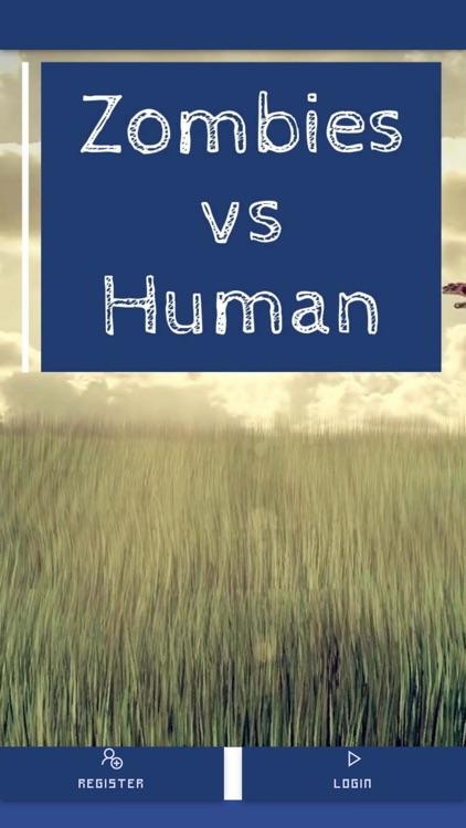 Zombies vs Human Same Room