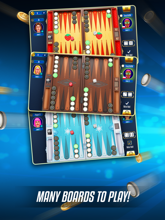 Backgammon Legends screenshot