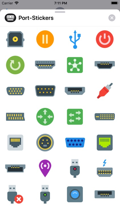 Port Stickers
