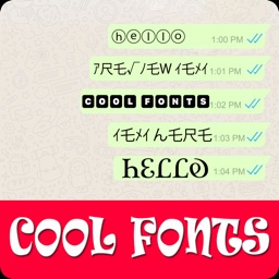 Stylish Fonts: Chat Text Style