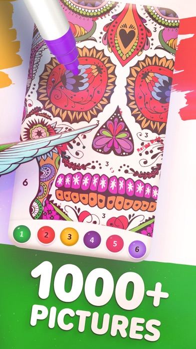 Magic Color by Number: Paint screenshot 4