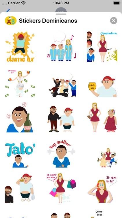 Stickers Dominicanos