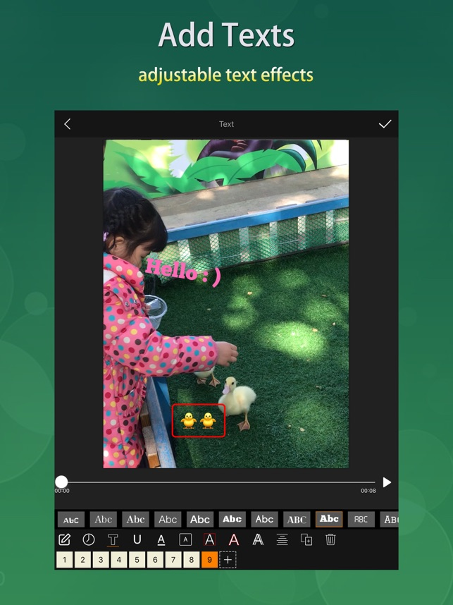 ‎Videdit - Handy Video Editor Screenshot
