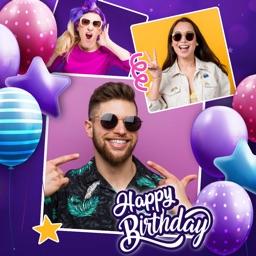Birthday Pic Collage Editor