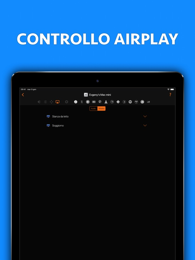 Telecomando per Mac - Pro Screenshot