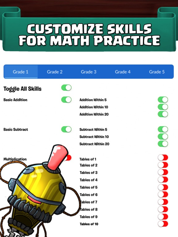 Monster Math School: Fun Gamesのおすすめ画像5