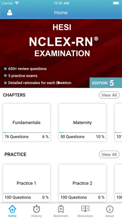 HESI NCLEX RN Exam Prep 2019 screenshot-0