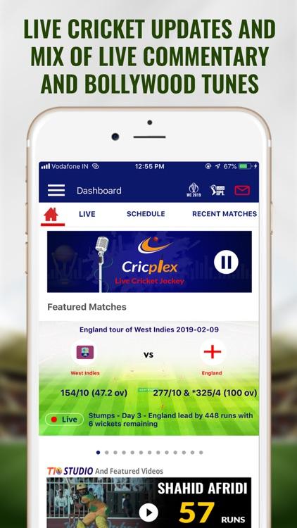 CricPlex - Live Cricket Jockey
