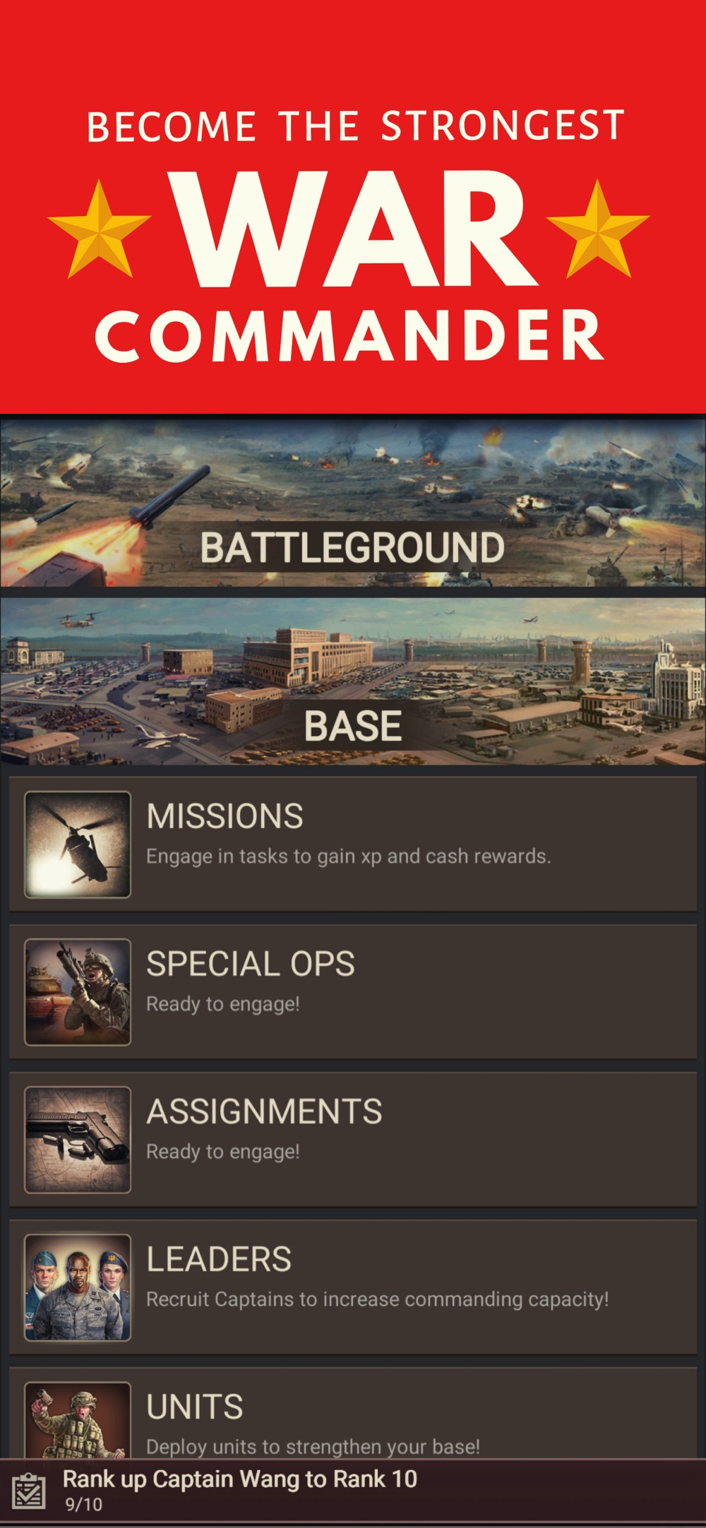 Warzone – Strategy War Games Cheat Codes