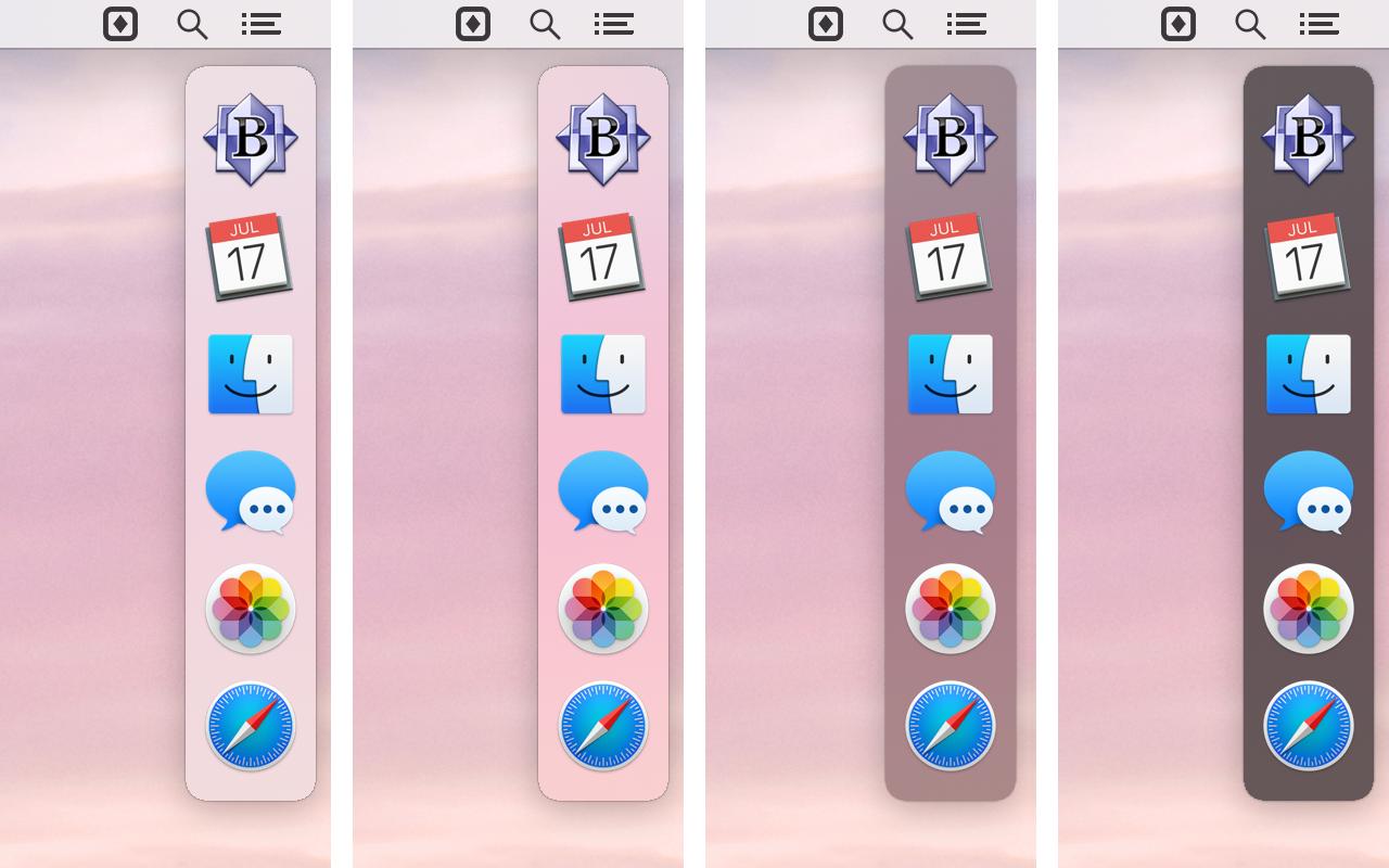 SwitchGlass Mac 破解版 可自定义的应用切换器-麦氪搜(iMacso.com)