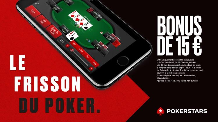 application poker en ligne argent reel