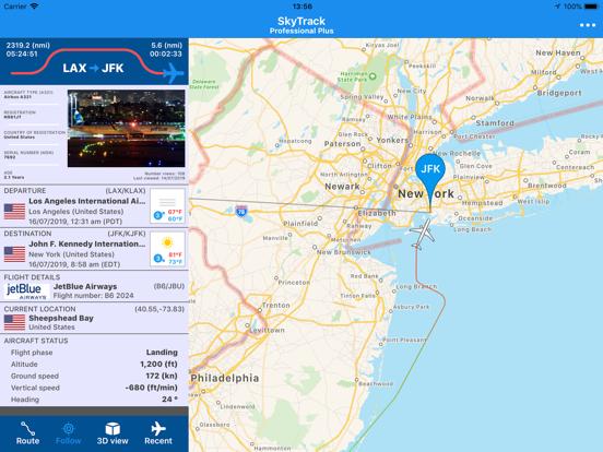 SkyTrack - The Flight Tracker-ipad-0