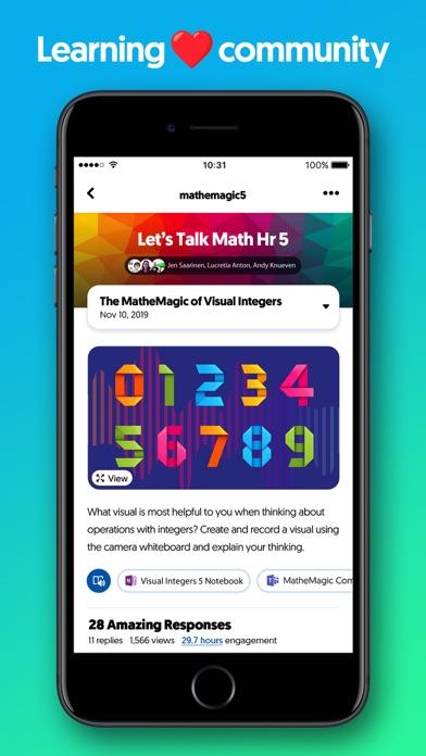 Flipgrid. Screenshot on iOS
