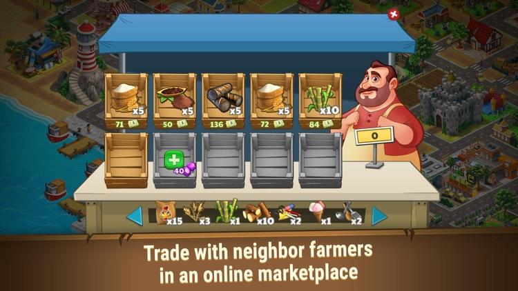 Farm Dream: Farming Sim Game screenshot-3
