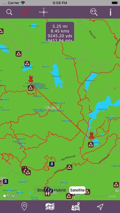Tahoe National Forest – GPS screenshot-3