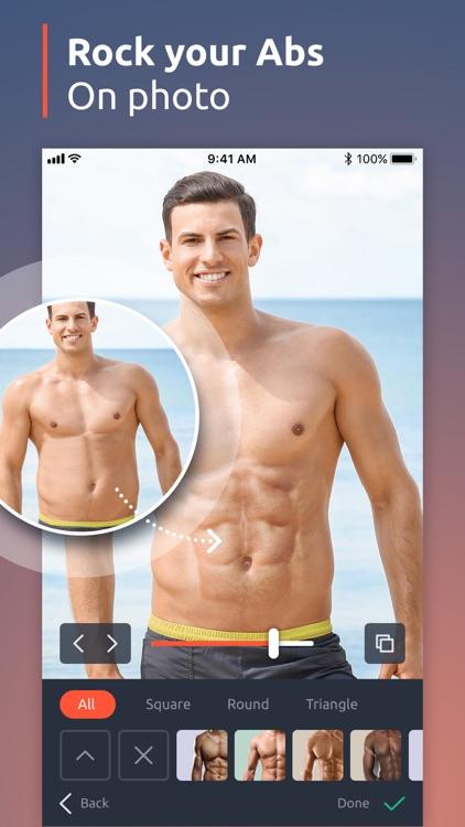 PhotoMen: body photo editor
