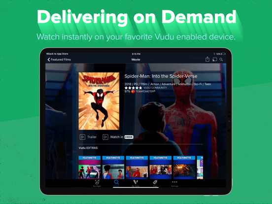 Vudu - Movies & TV - Revenue & Download estimates - Apple