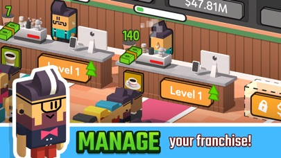 Idle Coffee Corp screenshot 1