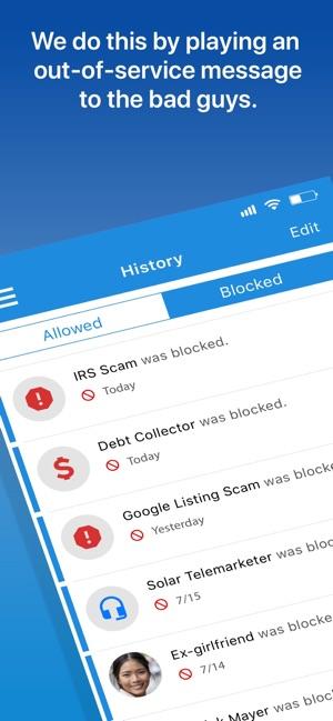 YouMail Voicemail & Call Block Screenshot