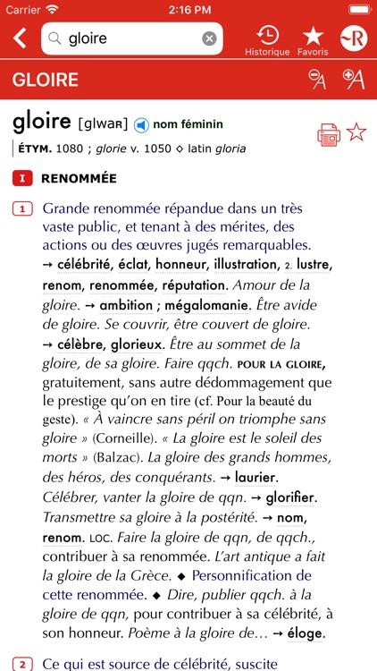 Dictionnaire Le Petit Robert screenshot-6