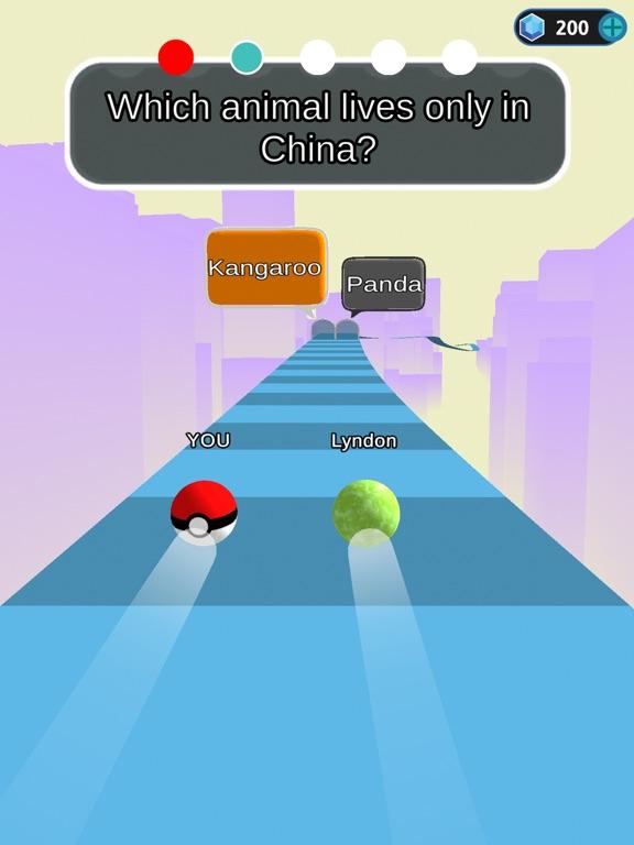 Trivia Race 3D - Roll & Answer screenshot 5