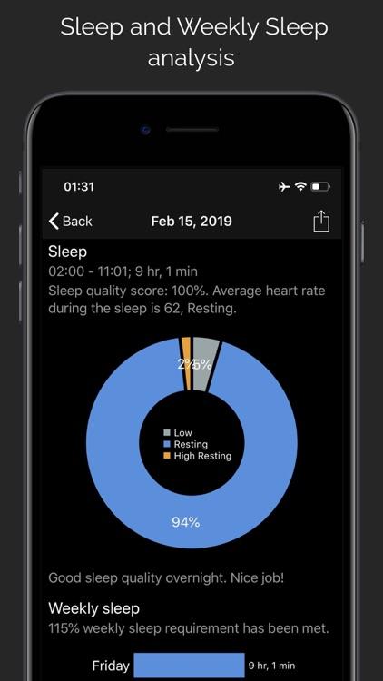 CardioBot - Heart Rate Tracker screenshot-3