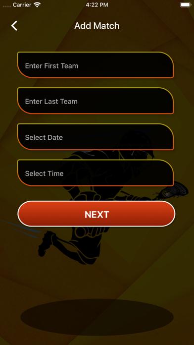 Lacrosse Score Card screenshot #5