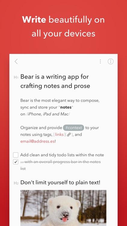 Bear screenshot-0