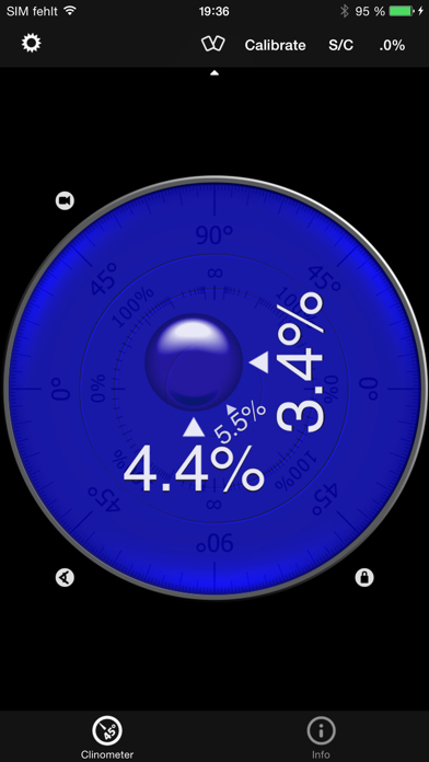 バブルレベル+傾斜計 (clinometer pro)のおすすめ画像2