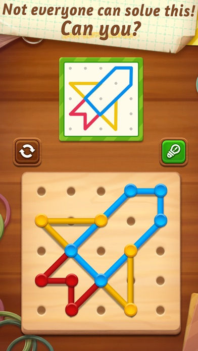 Line Puzzle: Color String Art screenshot 3
