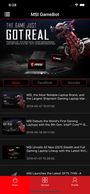 MSI GameBot on the App Store