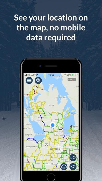 Snowmobile Manitoba 2019-2020 screenshot 2