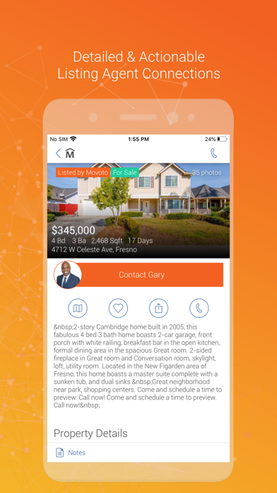 messages.download Movoto Real Estate software