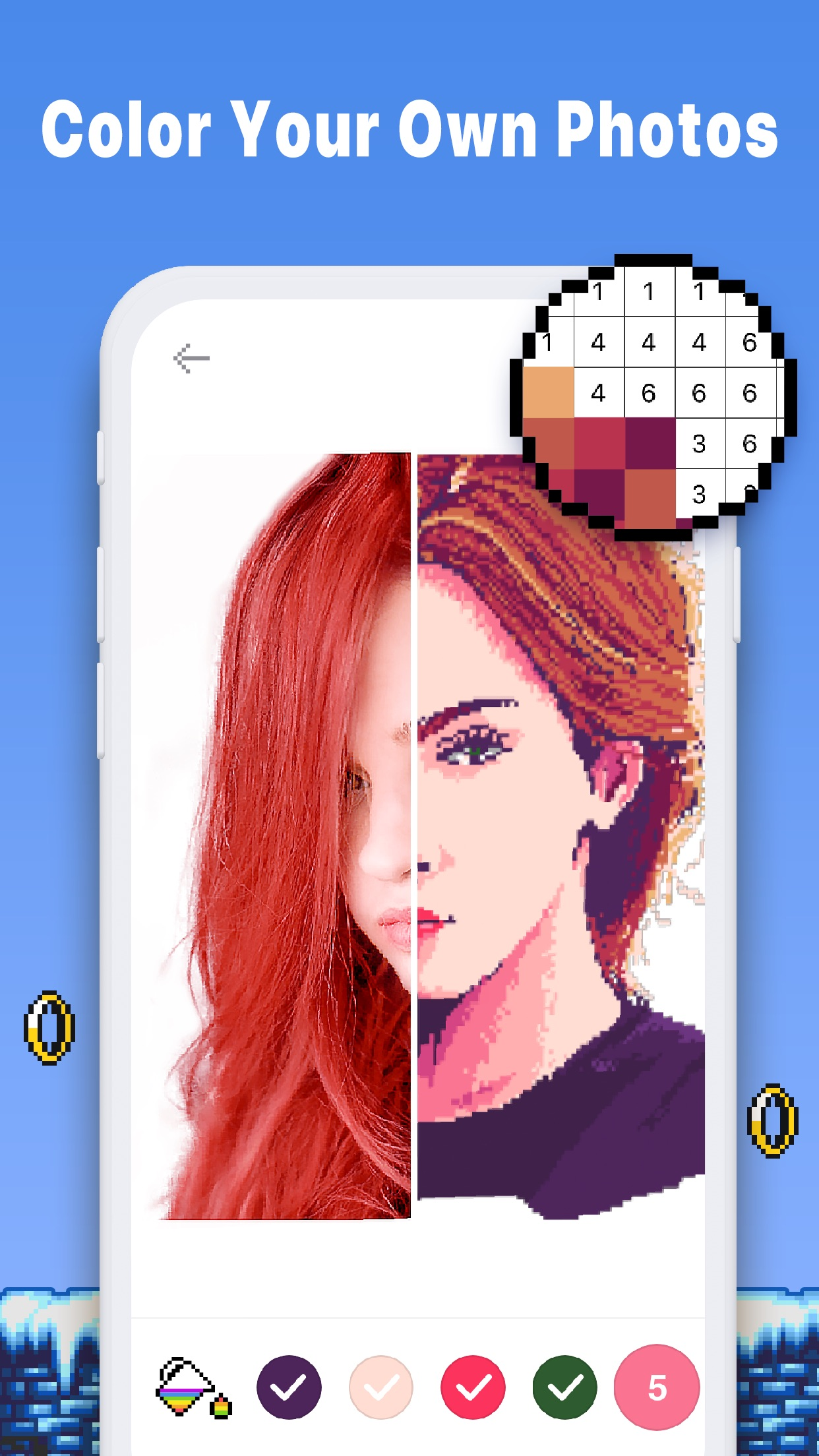 Pixel Art Color Book - Pix.num Screenshot