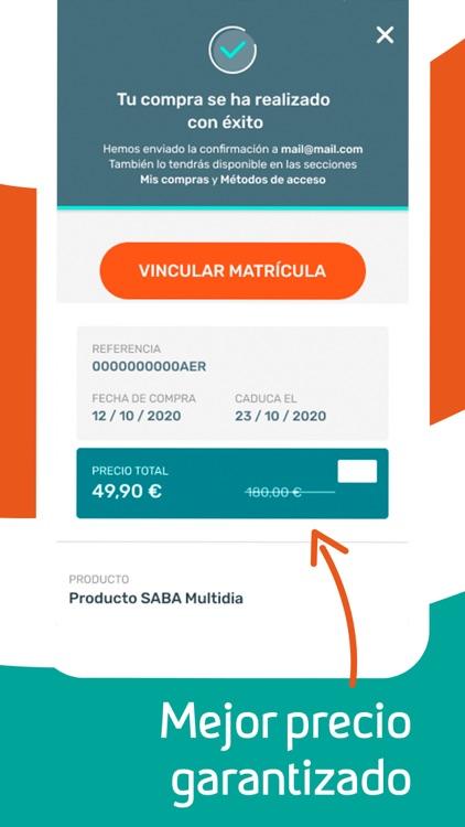 Saba - App de estacionamiento screenshot-5
