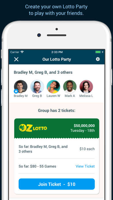 Download Oz Lotteries for Pc