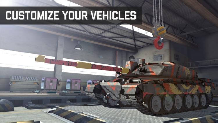 Massive Warfare: Tank War Game screenshot-4
