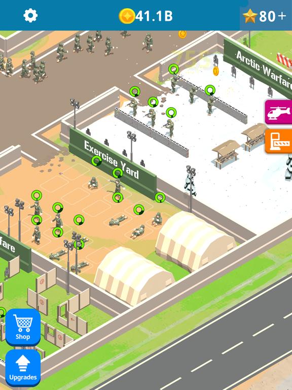 Idle Army Base screenshot 8